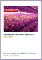 Iluminación artificial en agricultura