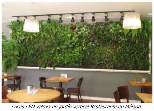 Buresinnova Arquitectura Vegetal Noticia Iluminacion Led Valoya - Iluminacion-para-jardin