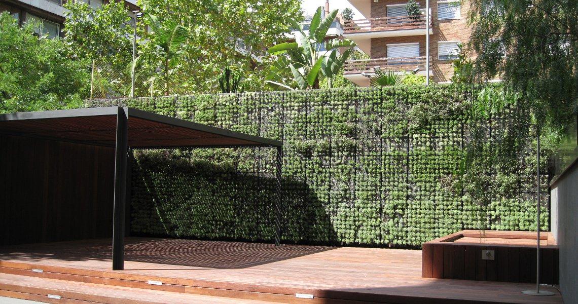 Jard n vertical modular plantas arom ticas 2 - Plantas aromaticas jardin ...