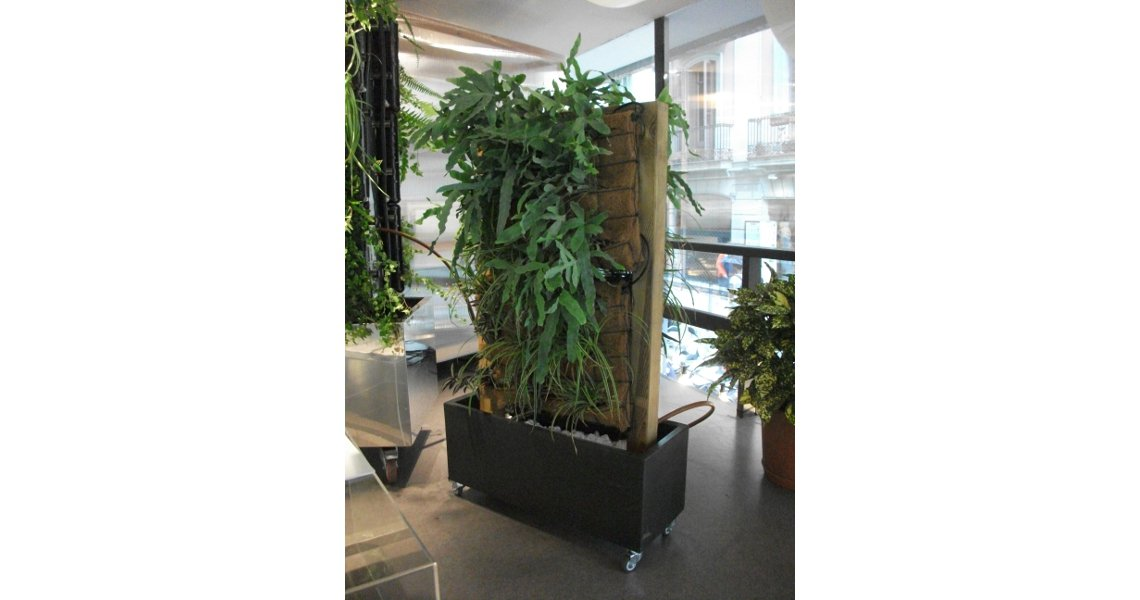 Separador de espacios sistema jard n vertical ecocco 2 - Separador jardin ...